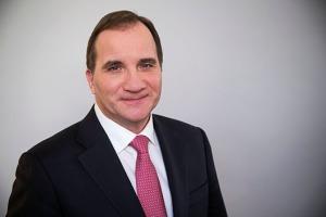 Statsminister Stefan Löfven. Foto: Kristian Pohl