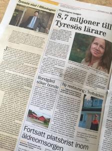 Krönika i Tyresö Nyheter